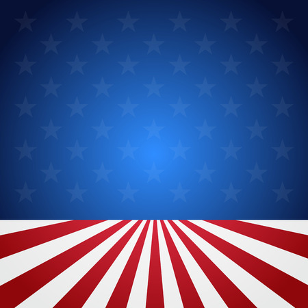 USA flag pattern background. Illustration