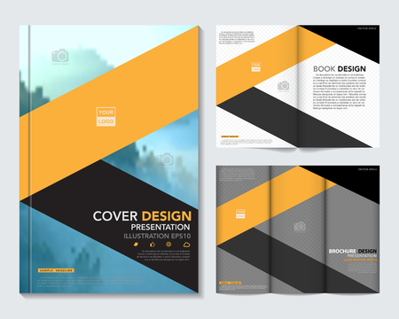 flyer background: Vector of book cover,brochure,flyer ,annual report template.