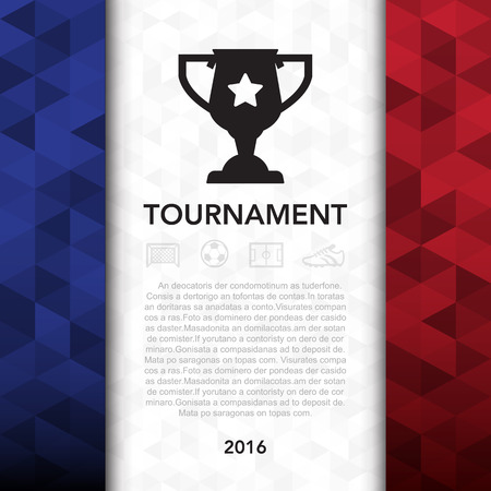 football shoes: Soccer ( football ) tournament background Illustration