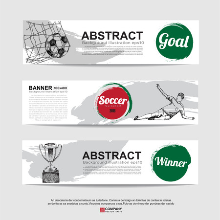 16,652 Soccer Banner Stock Illustrations, Cliparts And Royalty ...