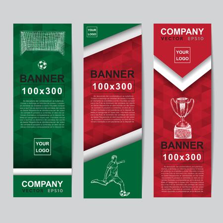 icono deportes: Bandera abstracta del color de la bandera para el sitio web de anuncios.