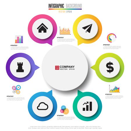 Infographics design template , Vector eps10