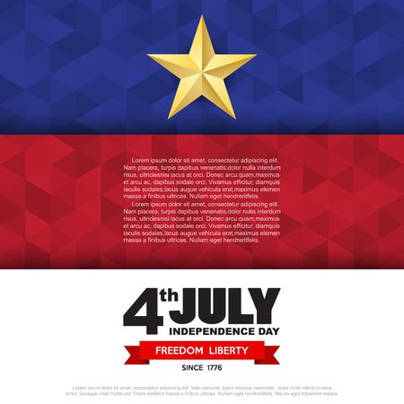 Independce Day Design Element,USA flag pattern background,.Illustratiom EPS10 Illusztráció