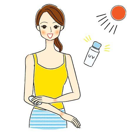 Women Skin Care Beauty Sunscreen