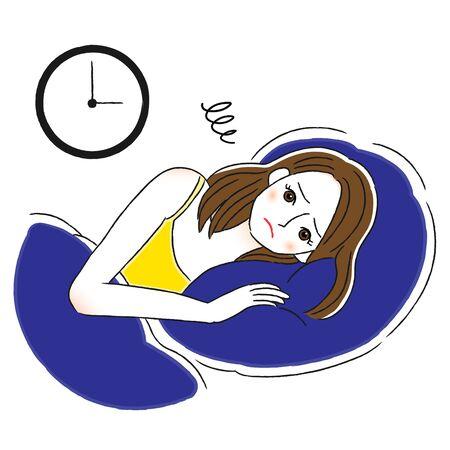 Insomnia Female Sleepless