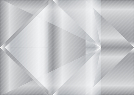 Triangle gray abstract background vector Illustration