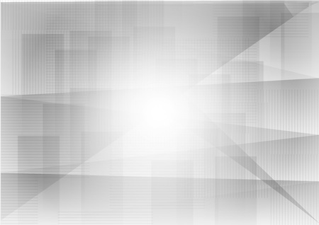 Triangle and straight line gray geometric abstract background vector.