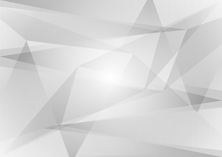 Abstract geometric, gray and white color, vector background