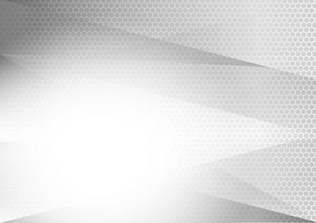 Priorità bassa astratta geometrica d'argento e grigia con lo spazio della copia, disegno grafico. Archivio Fotografico - 95664461