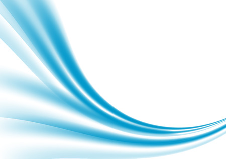 Abstract blue wave background modern design. Vector illustration for your business