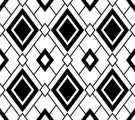 Simple geometric parrern, seamless vector design, transparent background Çizim
