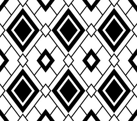 Simple geometric parrern, seamless vector design, transparent background Illustration