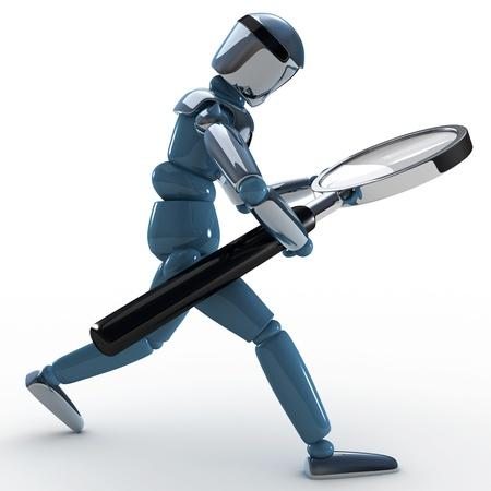 web robot: robot searching