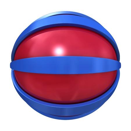 Striped Globe