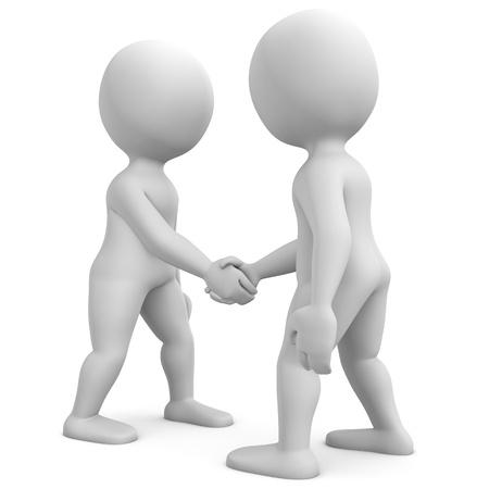 Handshake Stock Photo - 11209366