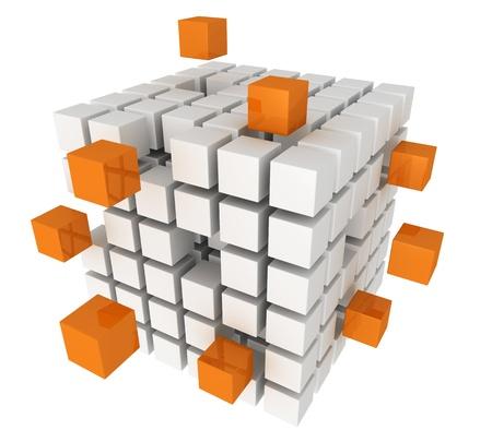 brand logo: Cubes