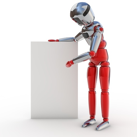 Robot posters Stock Photo - 12470014