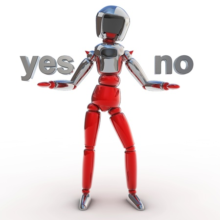 quality questions: Robot yes no