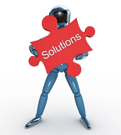 Robot Puzzle Solutions