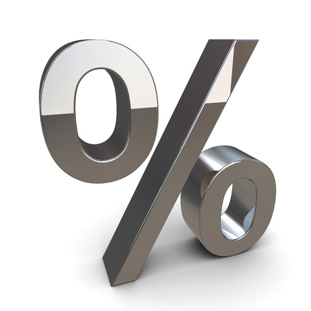 percentage Stock Photo - 12469999