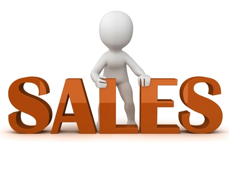 Sales front Stock Photo