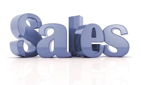 3d text sales B