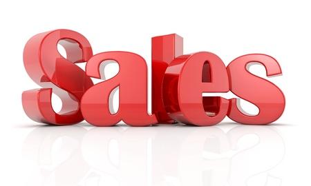 3d text sales R Stock Photo