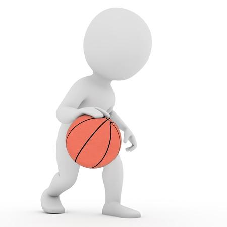 basketball player Stock Photo - 21956597