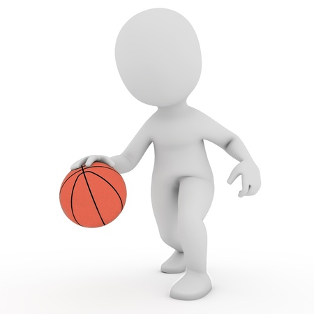 basketball player Stock Photo - 21956598