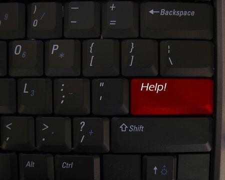 keyboard: Help button on keyboard