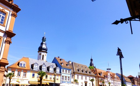 colourful houses: Colorful houses of Speyer