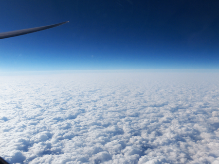exhilaration: Horizontal clouds
