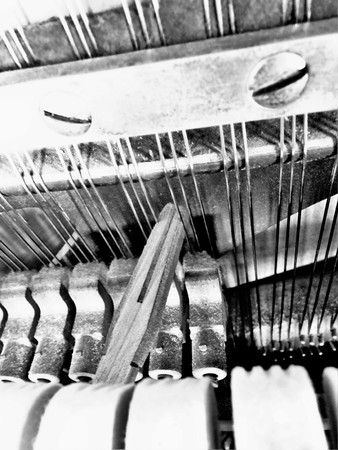 articulation: Replacing the strings of the piano