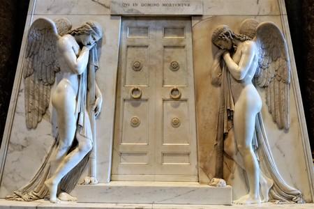 Sculpture of the Interior of the Basilica di San Pietro