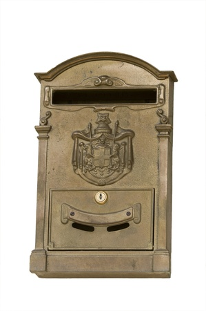 dropbox: Antique mailbox