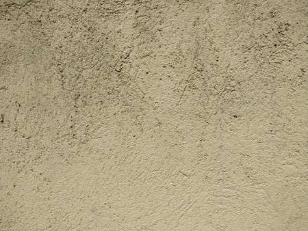 Cream concreted wall for interiors or outdoor exposed surface polished concrete. Cement have sand Zdjęcie Seryjne