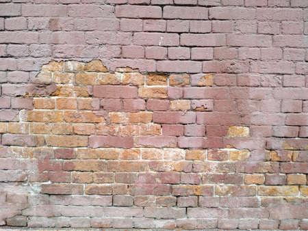 old brick wall. seamless texture. red brick. Zdjęcie Seryjne