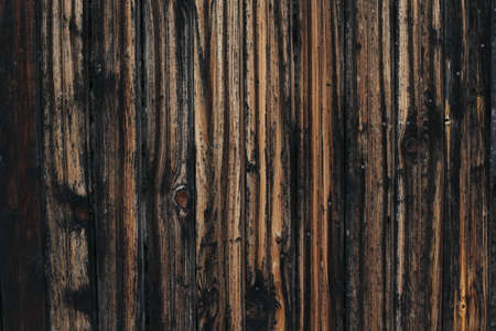 Rustic wooden planks background. An old wooden fence