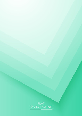 Trendy covers flat design. Simple blending overlap colorful background. Eps10 vector illustration