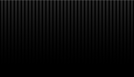 black lighting background with vertical stripes. Vector abstract background