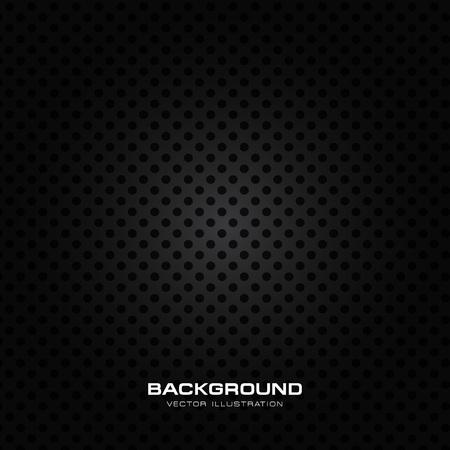 Wet speaker grille texture, black perforated background metal