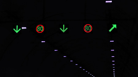 Velocity limitation of tunnel