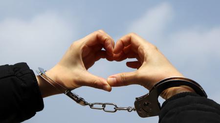The concept of love confession. Stock Photo
