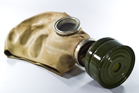 Russian mask gas photo