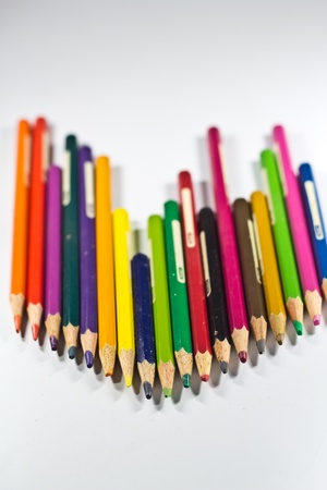 Old pencil color Stock Photo - 12772370