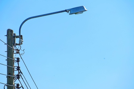 and streetlights: Street light Stock Photo