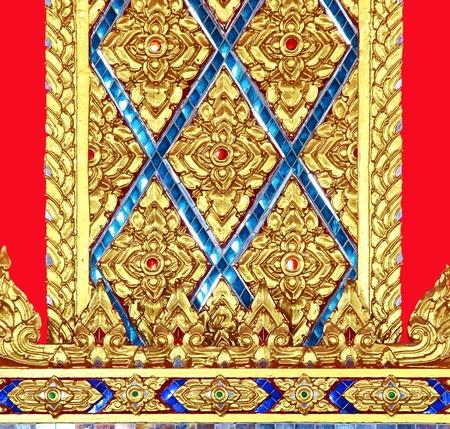 ism: Thai in Thai temple pillars