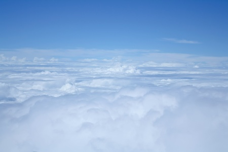 clouds and sky blue  photo