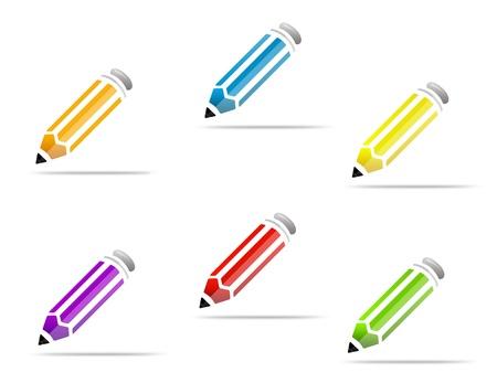 secretarial: pencil color