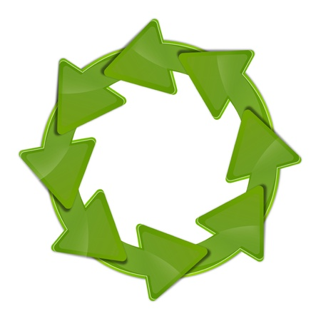 recycle symbol  Stock Photo - 13700331